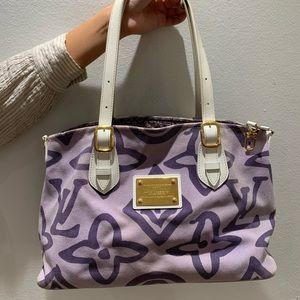 Louis Vuitton purple bag